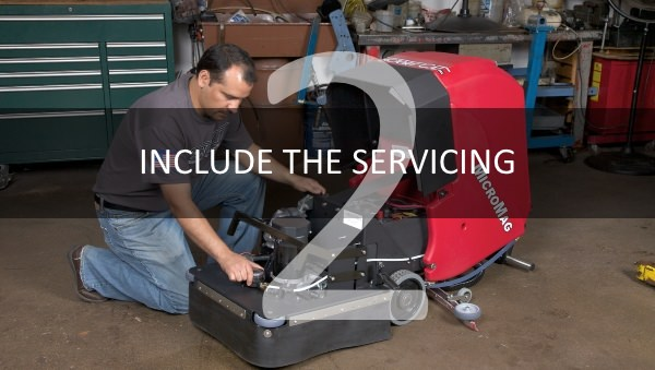 INCLUDE THE SERVICING 2